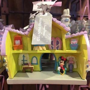 Minnie Mouse House Disneyland ornament